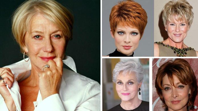 f512429fe419 Nejmodernější krátké účesy pro ženy nad 50 let na tenhle rok! Buďte krásné  i v tomto hezkém věku!