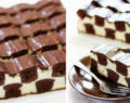Čokoládový koláč ve tvaru šachovnice! Král všech dezertů! Připravený za 30 minut! Rozplývá se v ústech!