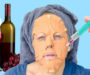 Plastický chirurg prozradil téhle ženě zajímavý trik! Geniální způsob jak se snadno zbavit vrásek!