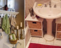Kreativní nápady na využití prostoru ve Vaší koupelně! Překrásné dekorace pro každého!