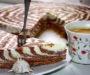 Tvarohový dvoubarevný dort připravený bez pečení za 20 minut!