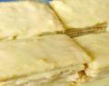 Listové řezy z kondenzovaného mléka připravené jen ze 4 ingrediencí!