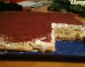 Nepečený tvarohový dort s kaštanovým korpusem a luxusním vanilkovým krémem!