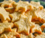 Slané sýrové vánoční hvězdičky připravené v troubě za 20 minut!