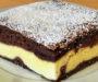 Tvarohový dort s čokoládou a zakysanou smetanou!