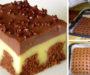 Fenomenální čokoládovo-vanilkový zákusek s vynikající chutí!