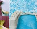 Vzala obyčejné koště a začala s ním natírat zeď! 4+ geniální triky jak si levně vyzdobit zdi v domácnosti!
