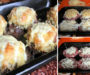 Zapečená hnízda z mletého masa se sýrem a cibulí a famózní chutí! Hotové za 30 minut!