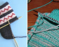 Kreativní nápad na krásné ponožky pletené na dvou jehlicích – nejjednodušší způsob pletení na světe!