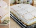 Nejlepší šlehačkový koláč s famózním smetanovým krémem – připravený za 15 minut!