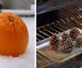 Vezme šišky a dá je trouby! Kreativní nápady na překrásné vánoční dekorace na ozdobení Vaší domácnosti!