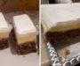 Ořechové řezy s vanilkovým pudinkem – hotové za 30 minut! Zamilujete si je po prvním ochutnaní!