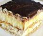 Nepečený Eclair dort s lahodnou čokoládovo-krémovou polevou! Připravený za 25 minut!
