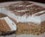 Ořechový koláč s kokosem, smetanou a tím nejjemnějším krémem – lehký a velmi lahodný dezert!