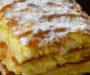 Famózní tvarohový koláč s vanilkovým krémem a super chutí – připravený za 35 minut!