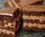 Lahodný čokoládovo-krémový koláč s famózní chutí – připravený za 35 minut!