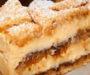 Ořechový dezert s luxusním krémem a čokoládovou polevou – připravený za 35 minut!
